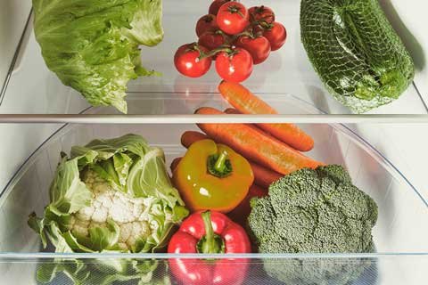 gemüse kühlschrank